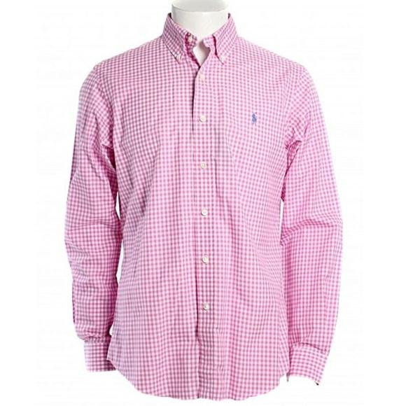 1b4e286f7c7 Polo Ralph Lauren Custom-Fit Gingham Shirt NWT NWT